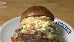 Nhà hàng Nhật Bản đổi thực đơn với món bánh mì kẹp 'Biden Burger'