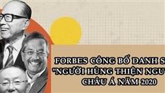 Tỷ phú Phạm Nhật Vượng góp mặt trong danh sách 'anh hùng từ thiện' châu Á của Forbes