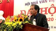 Nhà thơ Nguyễn Quang Thiều đắc cử Chủ tịch Hội Nhà văn
