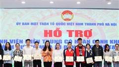 Hà Nội tiếp nhận hơn 13 tỷ đồng ủng hộ nhân dân miền Trung khắc phục hậu quả mưa lũ