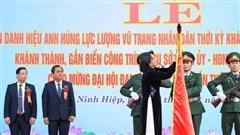 Xã Ninh Hiệp (huyện Gia Lâm) đón nhận danh hiệu Anh hùng Lực lượng vũ trang nhân dân