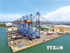 Doosan Vina hoàn thành 6 cẩu trục khổng lồ STS cho cảng Gemalink