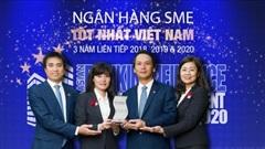 BIDV nhận giải thưởng 'Ngân hàng SME tốt nhất Việt Nam 2020'