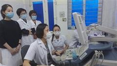 Chuyển giao kỹ thuật tim mạch tại Thanh Hóa