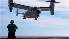 Cú hạ cánh lịch sử của CMV-22B