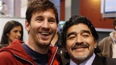 Messi: Diego Maradona là người vĩ đại nhất