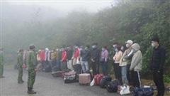 Bắt giữ 35 người nhập cảnh trái phép vào Việt Nam