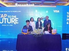 Ngân hàng đầu tiên cho phép thanh toán không tiếp xúc bằng smartphone