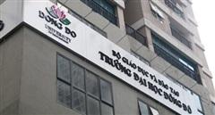Thu hồi, hủy bỏ các văn bằng được cấp sai quy định tại ĐH Đông Đô