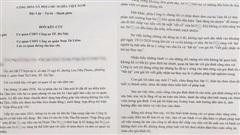 Điều tra vụ học sinh lớp 11 bị yêu cầu viết giấy 'trả nợ thay mẹ'