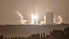 Tàu thăm dò Hằng Nga 5 của Trung Quốc đã đáp xuống Mặt trăng