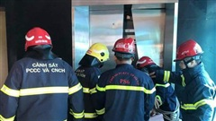 Giải cứu 38 người mắc kẹt trong thang máy ở Đông Anh