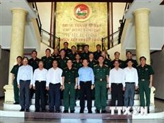 Quân khu 7 đánh giá kết quả công tác thực hiện nhiệm vụ quốc phòng