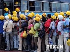 Malaysia: Điều kiện ăn ở của công nhân nước ngoài không đạt tiêu chuẩn