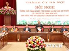 Hà Nội phối hợp với Bộ Tài chính tháo gỡ khó khăn về thu chi tài chính