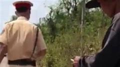 Công an Đồng Nai xác minh các clip 'sếp can thiệp gỡ xe vi phạm'