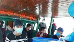 Tám người về từ Trung Quốc định trốn cách ly y tế ở Quảng Ninh