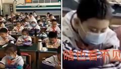 Cười đau ruột cảnh học trò đeo khẩu trang ngồi nhìn bạn bè ăn trưa, nhưng hỏi ra mới biết lý do cực đặc biệt