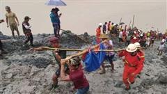 VIDEO: Sập mỏ ngọc bích ở Myanmar, ít nhất 113 người chết
