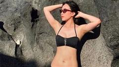 Lâu lắm mới diện bikini một lần, Diệu Nhi gây bất ngờ với body cũng 'ra gì và này nọ' và vòng 1 đẫy đà