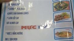 Những menu đồ ăn chỉ cần liếc qua đã muốn 'cười sặc'