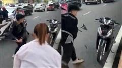 Vụ va chạm giao thông với bà bầu còn rút hung khí thách thức: Tạm giữ một thanh niên 17 tuổi
