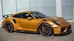 Chiêm ngưỡng siêu phẩm Porsche 911 được dát vàng cực độc, chịu nhiệt tới 120 độ C