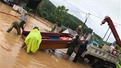 Sạt lở ở Phú Thọ khiến 2 người thiệt mạng, 7 người bị thương