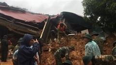 Những hình ảnh đầu tiên tại hiện trường vụ sạt lở đất nghi vùi lấp 22 cán bộ, chiến sĩ ở Quảng Trị