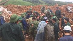 Sạt lở núi vùi lấp 22 cán bộ, chiến sĩ: Những thi thể cuối cùng đang được đưa về, hình ảnh đoàn xe cứu thương nối dài gây xúc động mạnh