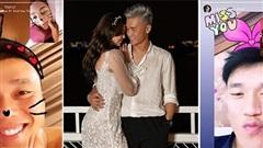 Thủ môn Bùi Tiến Dũng và bạn gái người mẫu càng ngày càng có tướng thu phê