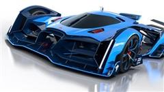 Bugatti hé lộ dự án siêu xe bí ẩn với đèn hậu cực dị