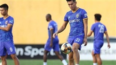 Tiền đạo Tiến Linh: 'Tôi không ngại đối đầu với trung vệ của Hà Nội FC'