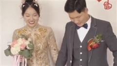 Ngay trong đám cưới, cô dâu  bị 'tiểu tam' đạp thẳng vào bụng mà vẫn phải... cười