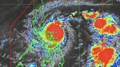 Siêu bão Goni đổ bộ gây mưa lớn tại Philippines