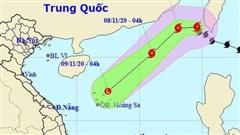 Bão Atsani chính thức vào biển Đông, trở thành cơn bão số 11 với sức gió giật cấp 11