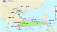 Áp thấp nhiệt đới mới khả năng mạnh lên thành bão