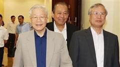 Chùm ảnh: Tổng Bí thư, Chủ tịch nước chủ trì họp về phòng, chống tham nhũng