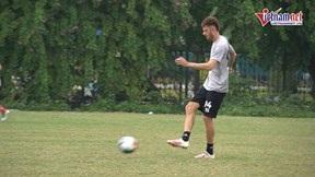 Xem chân ngoại binh hay bậc nhất V.League trong màu áo Hà Nội FC