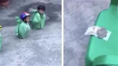 Clip gây bức xúc: Trẻ bị buộc vào bao tải, lăn lê trên mặt đất để giành 500 ngàn đồng, người lớn vây quanh cười vui sướng