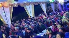 Choáng ngợp hình ảnh gần 1000 người đến 'uống nước' chia vui với gia đình Công Phượng trước ngày đón dâu