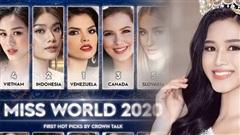 Vừa đăng quang, Hoa hậu Đỗ Thị Hà đã lọt top gương mặt hot nhất Miss World 2021, fan quốc tế đánh giá cao bất ngờ