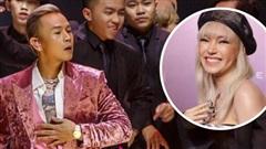 Binz cuối cùng đã chia sẻ về màn phát 'cẩu lương' công khai đầu tiên với Châu Bùi tại Fashion Week: Nghe sao thấy lươn lẹo quá?