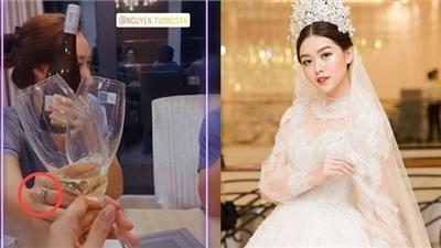 Á hậu cưới sớm nhất lịch sử dàn Hoa hậu, Á Hậu Việt lên tiếng về tin đồn mang thai