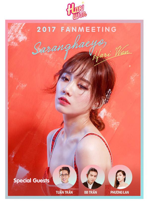Hari Won tổ chức fan meeting cảm ơn fan sau dự án 'Thiên Ý' 0