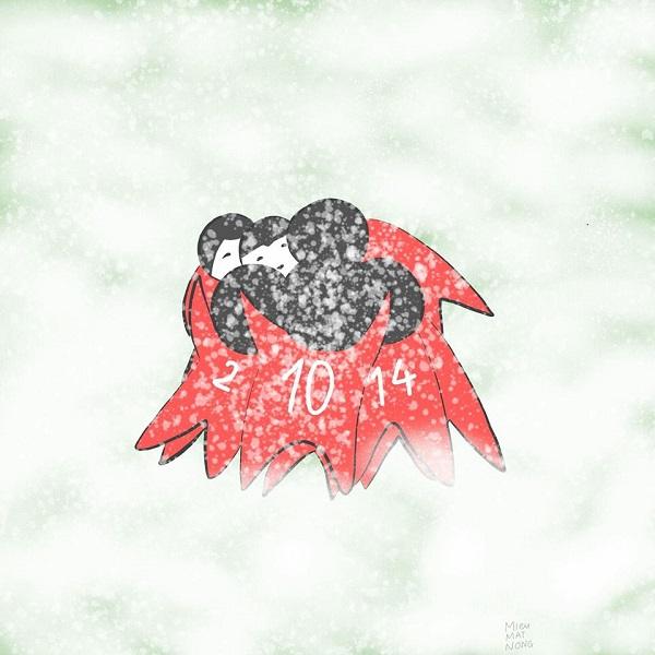 Chúng tôi đã nghẹn tim mình khi thấy các bạn ôm chặt nhau giữa trận mưa tuyết trên sân cỏ Thường Châu.