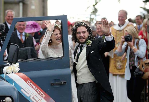Dàn sao Game of Thrones hội ngộ trong đám cưới chàng Jon Snow 1