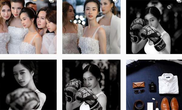 Tài khoản Instagram của Đăng Khoa ngập tràn hình ảnh của Jun Vũ.