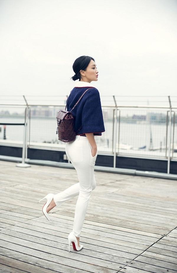 Dù đã U50nhưng'Như Ý' Châu Tấn vẫn gây ấn tượng bởi gu thời trang tuổi18 12