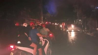 TP Thanh Hóa: Nhiều căn nhà bùng cháy lớn trong đêm 5